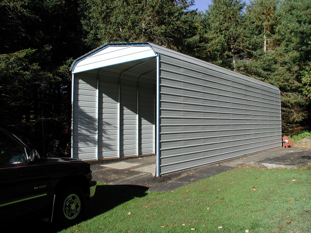 Steel Buildings Garages Shops Carpots Rv Covers And