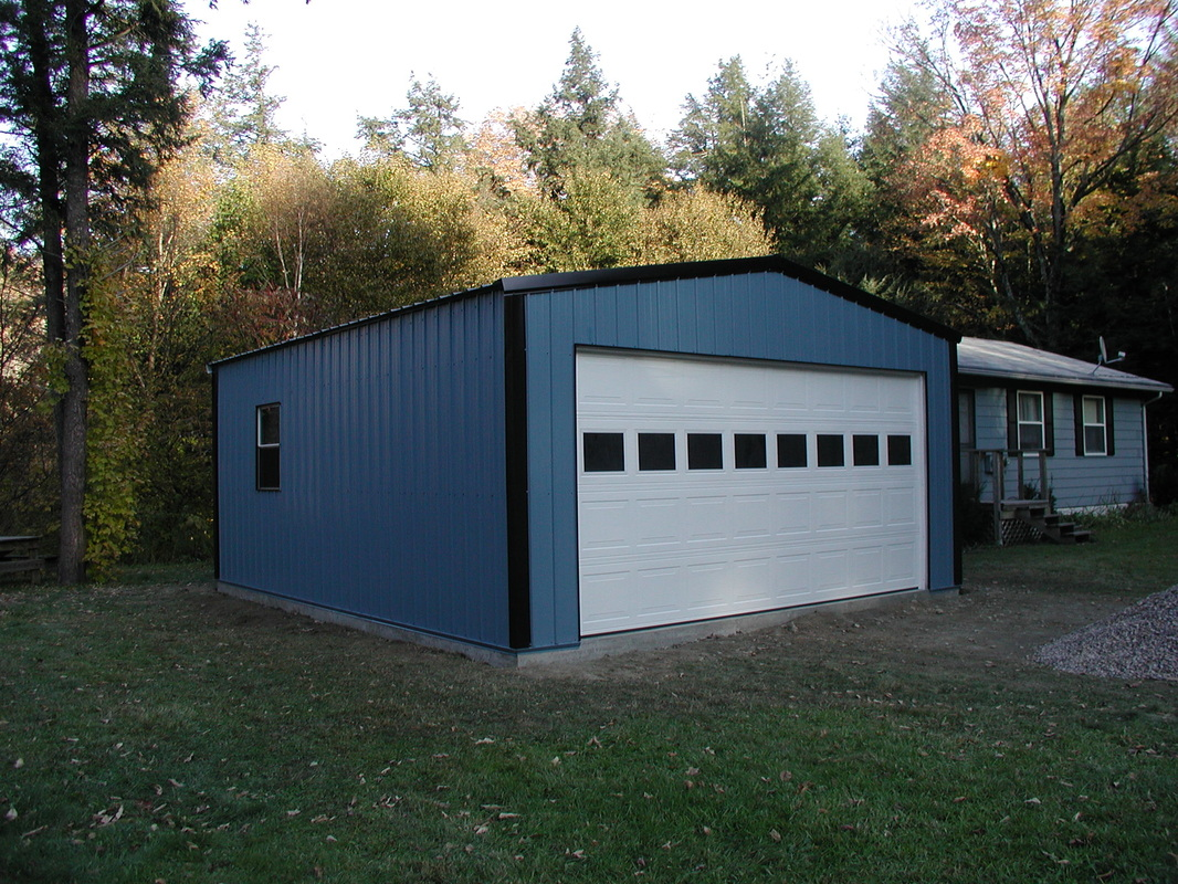Steel Buildings, Garages, Shops, Carpots, RV Covers and ...